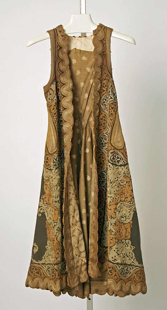 Coat       19th century      Greek ,      wool, silk, metallic