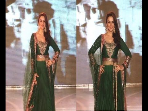 Preity Zinta walks the ramp for SAVE and EMPOWER GIRL CHILD campaign.