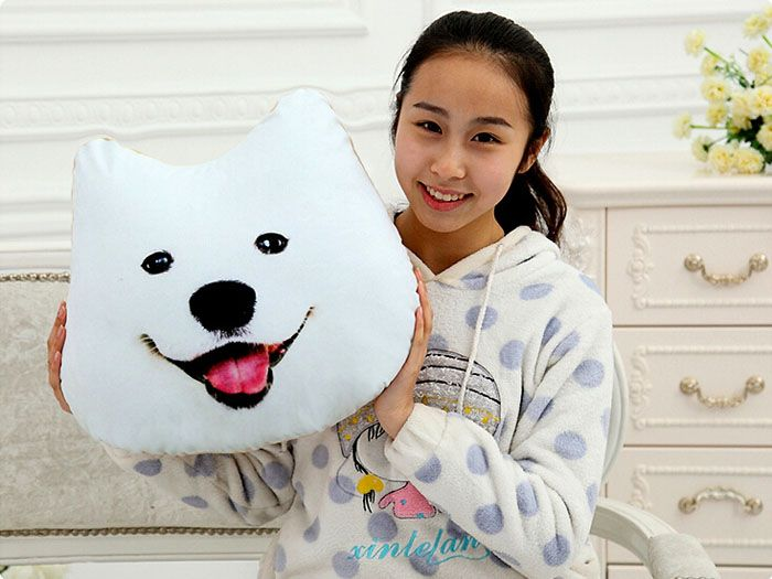 Only US$18.90 , shop Plush 3D Printed Samoyed Husky Doge Dog Throw Pillow Alaska Dog Cushion at Banggood.com. Buy fashion Pillows & Cushions online.