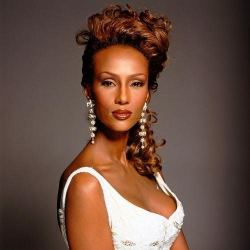 """Terry O'Neill   Iman Studio Shot Somalian supermodel Iman photographed in studio, 1994.  Limited Edition C-Print Signed and Numbered  16"""" x 16"""" / 20"""" x 20""""  24"""" x 24"""" / 30"""" x 30""""  40"""" x 40"""" / 48"""" x 48""""  60"""" x 60"""" / 72"""" x 72""""  For questions or prices please contact us at info@igifa.com"""
