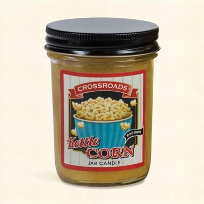 Kettle Corn - Half Pint Mason Jar