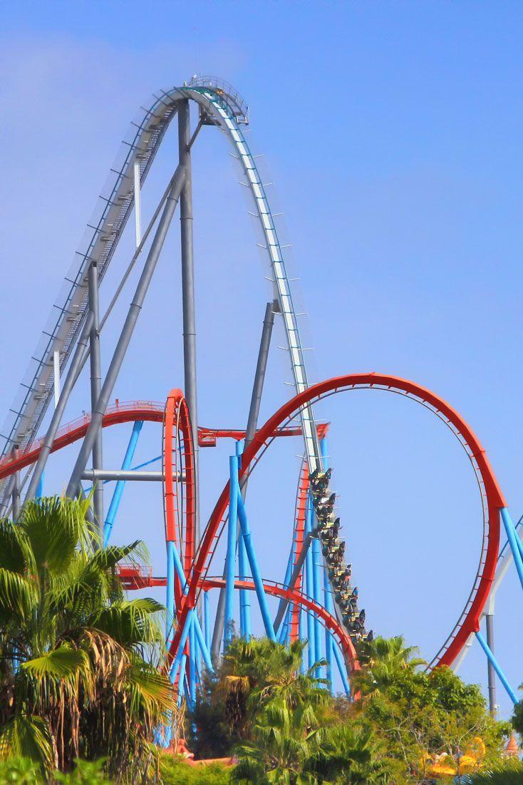 O PortAventura tem a maior montanha-russa de toda a Europa e é o terceiro maior parque de diversões da Espanha