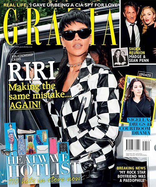 Rihanna (2013.12.11. Grazia) #Rihanna