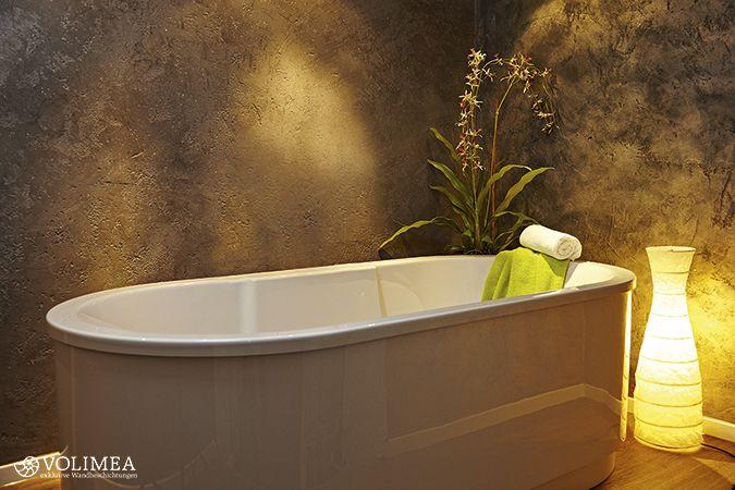 Volimea für Bäder und Wellness. Beste Lösungen mit Marmor-Kalk-Putz (Foto von Volimea)