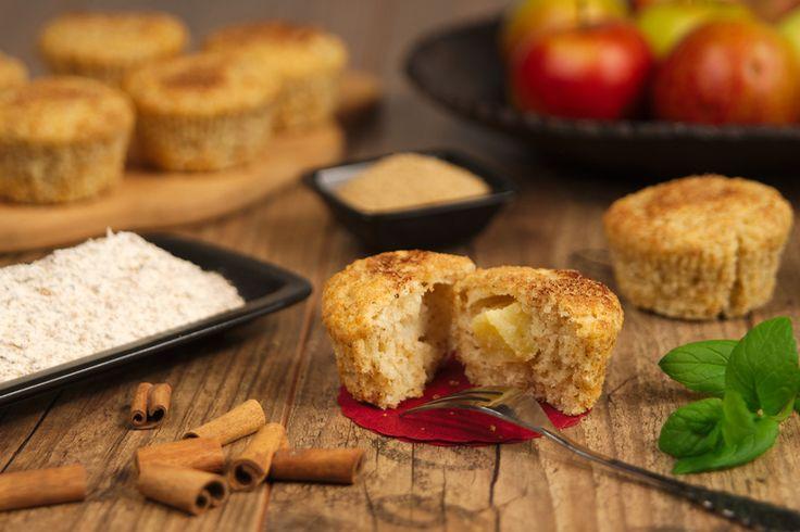 Muffiny jogurtowe z jabłuszkiem