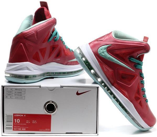 Nike Zoom LeBron 10 X P.S Christmas Red/White/Green, cheap Nike Lebron If  you want to look Nike Zoom LeBron 10 X P.S Christmas Red/White/Green, ...