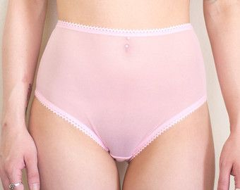 Cuarzo rosa corte bragas ropa interior de por SweetToothLingerie