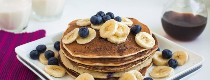 Banana Pancakes are a favorite breakfast in our home. They are easy to make, and everyone loves them! They're wonderful served with a little maple syrup or applesauce.