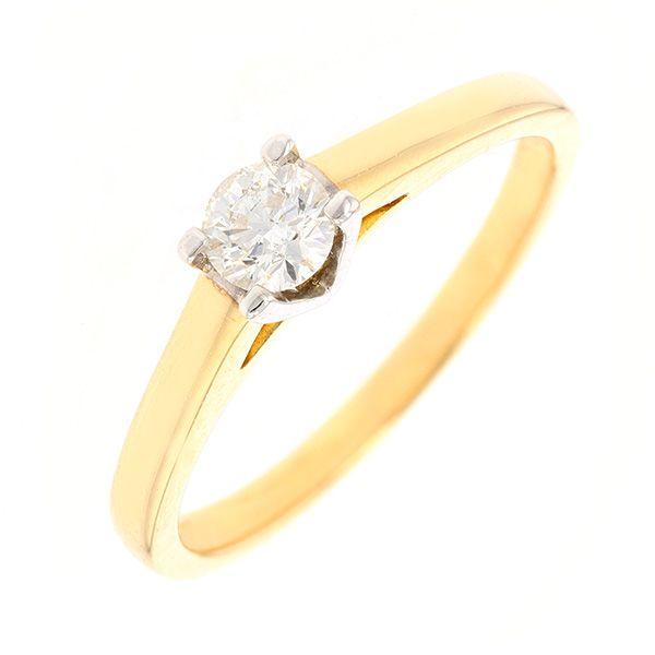 bague or blanc 4 anneaux