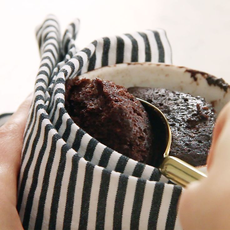 Nutella Mug Cake - Recipes - Kitchen Stories