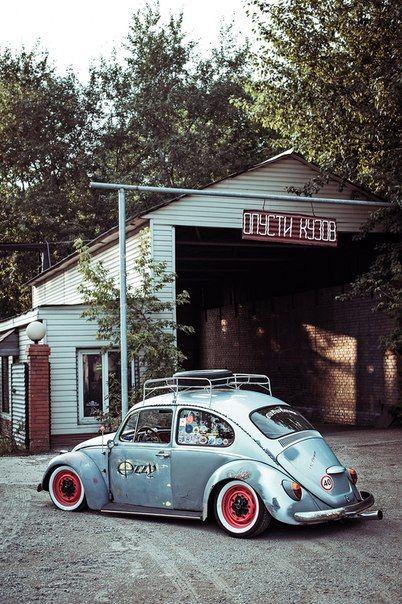 Voodoo 39 s garage wheels pinterest garage and beetle - Garage volkswagen orleans ...