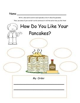Pancake Activities for If You Give A Pig a Pancake, Pancakes, Pancakes, and Curious George Makes Pancakes