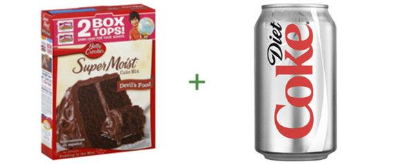 Cake mix. Soda. That's all you need.
