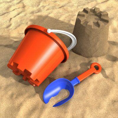 Sand Pails & Sand Castles