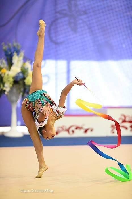 Arina AVERINA (Russia) ~ Ribbon @ Russian National Championship 2017 in Penza Photographer Oleg Naumov.