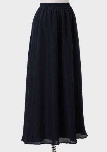 Grace Kelly Maxi Skirt   Modern Vintage Bottoms   Modern Vintage Clothing