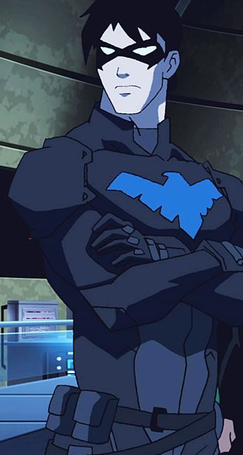 young justice nightwing - Google Search