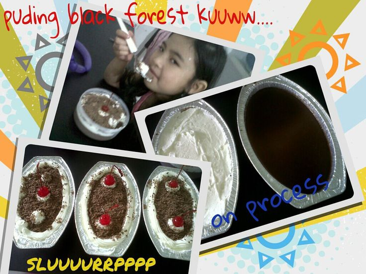 Puding Black Forest