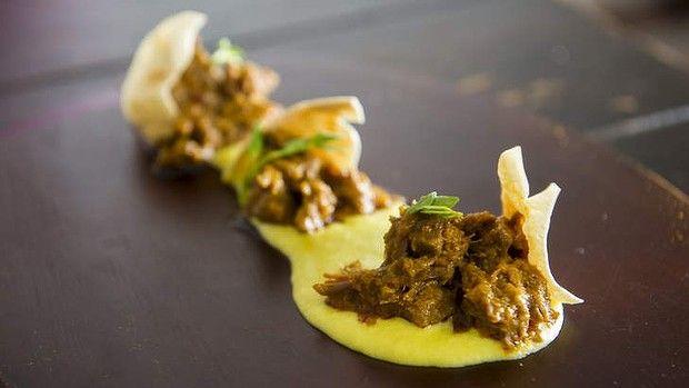 Kolhapuri lamb ... MasterChef finalist Rishi Desai's recipe. Photo: Rohan Thomson
