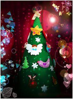 POIANA CU GAZUTZE: Braduti din fetru #fetru #handmade #craciun #cadou #moscraciun #jucarie #coronita #mosnicolae #sarbatori #decoratiuni #ornamente #felt #christmas #ornaments #decorations #toys #christmastree #santa #gift