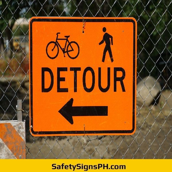 Detour Warning Sign Philippines Feeling Like A Failure How Are
