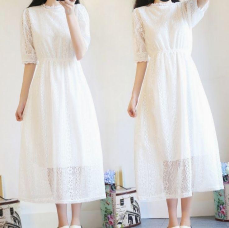 Kleid Elegante Lange Koreanische Haar Frisur Outfits Elegante Frisur Kleid Kor Vestidos De Moda Juveniles Vestidos Largos Elegantes Vestidos De Moda