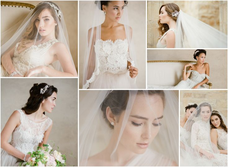 54 best bridal veils and headpieces at rosa 39 s shop images for Bel aire bridal jewelry