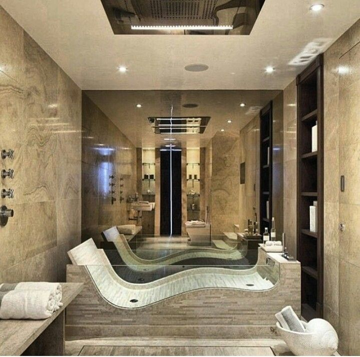 28 best ideas about dream house on pinterest lazy river for Best bathrooms ever