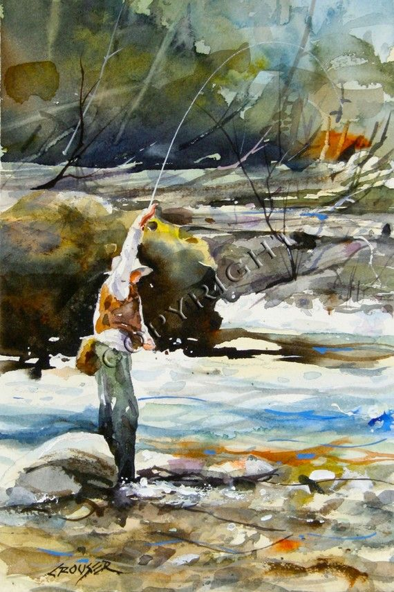 17 best images about fly fishing on pinterest fly for Fly fishing art