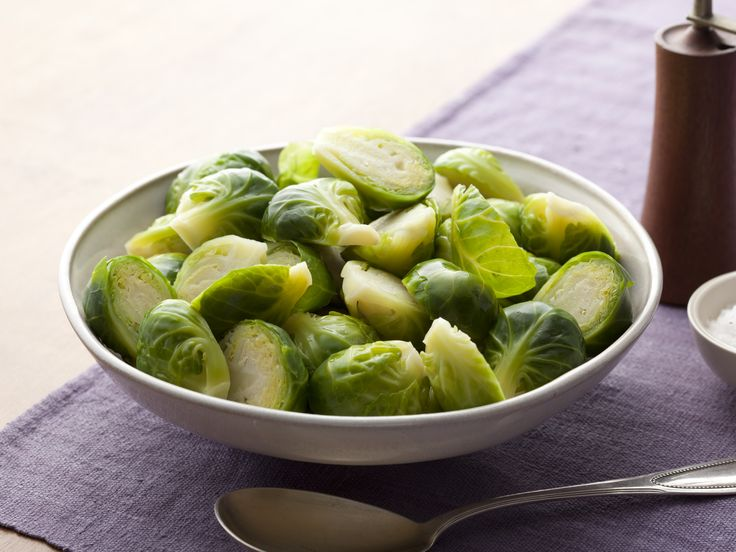 Basic Brussels Sprouts Recipe : Alton Brown : Food Network - FoodNetwork.com