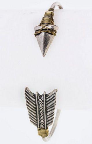 Metal Wired Arrow Bracelet