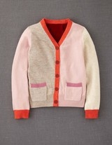 Hotchpotch Cardigan (Biscuit Melange/Pink Icing    )Girls, Cardigans Little, Biscuits Melange Pink, Mini Boden, Minis Dog Qu, Hotchpotch Cardigans, Minis Boden, Adorable Cardigans, Kids Clothing