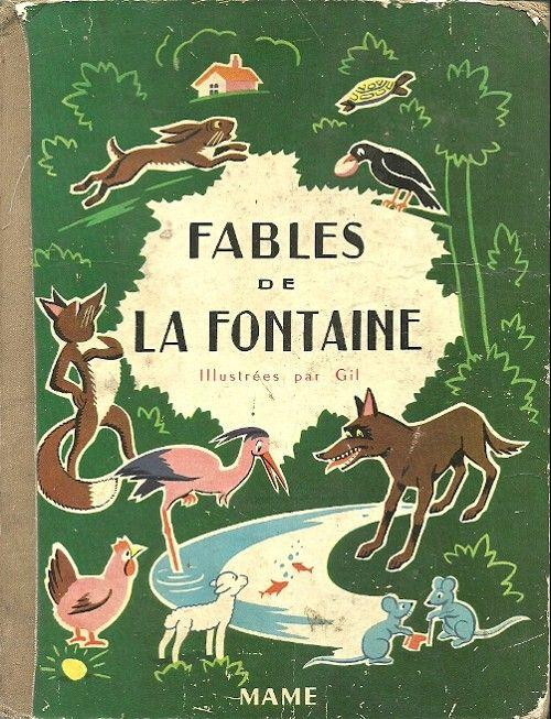 Fables de Jean de La Fontaine - Couverture livre   Jean de ...