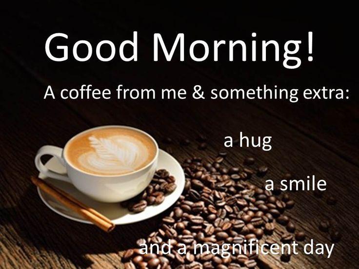 Guten Morgen....einen schönen Sonntag!