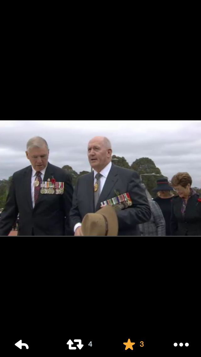 Governor on Anzac Day