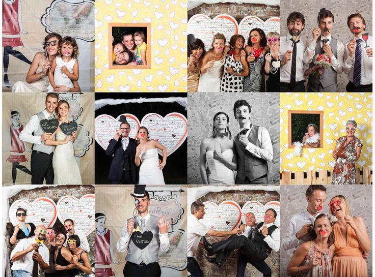 photo booth tendenza matrimonio 2017 2016 foto divertenti
