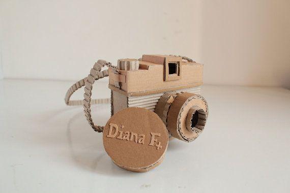 Cardboard Diana Fplus by OupasDesign on Etsy, €60.00