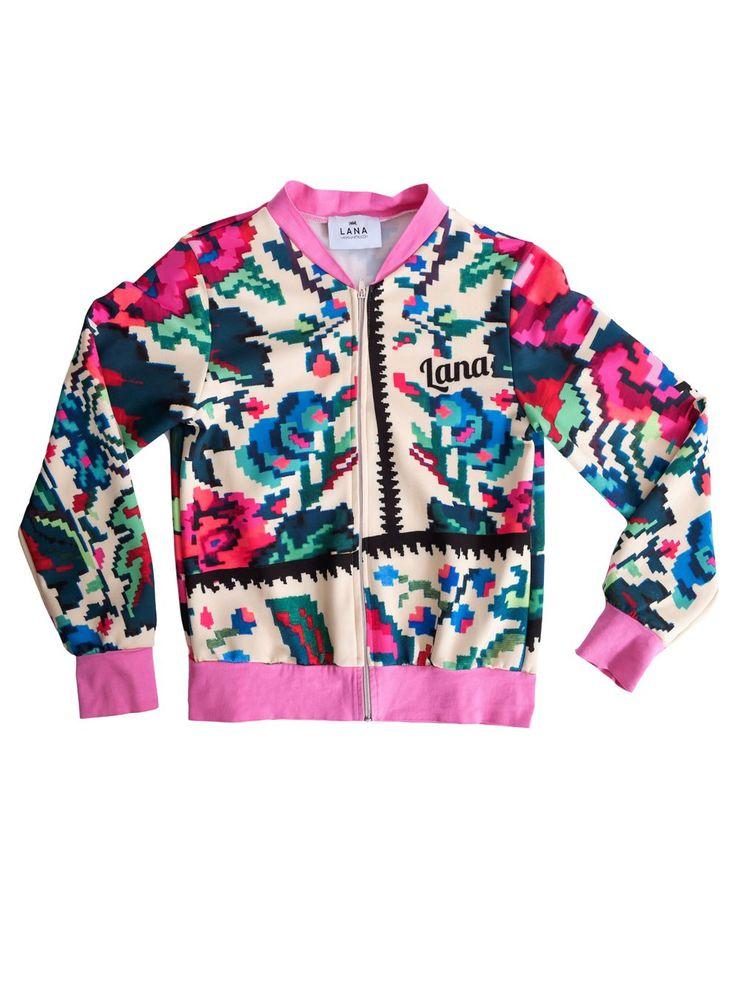 Etno Star Jacket Pink #lana #dumitru #lanadumitru #digitalprint #etnomotifs