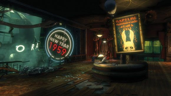 Rapture BioShock: set in an underwater city hidden in the depths of the Atlantic Ocean