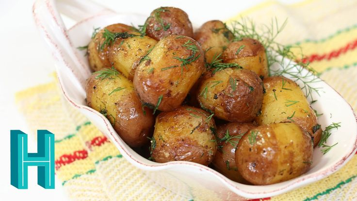 How to Make Rissole Potatoes |  Buttery Fried Baby Potatoes - YouTube