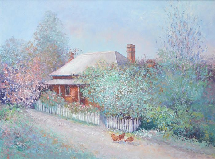 """Spring, Braidwood,  NSW"" by Jan Matson. Paintings for Sale. Bluethumb - Online Art Gallery"