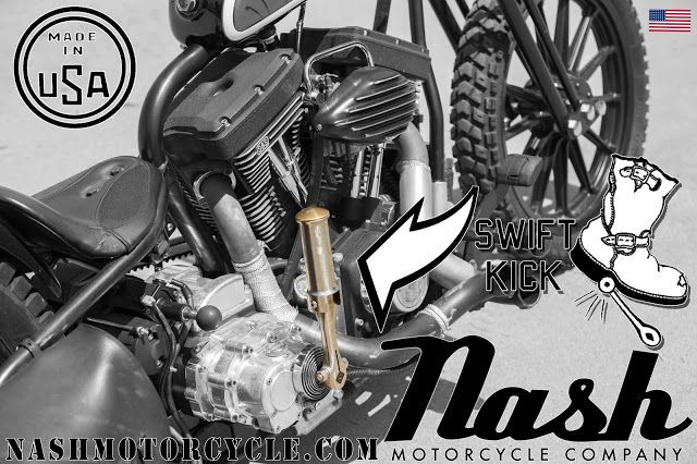 Kicking it with Nash Motorcycles