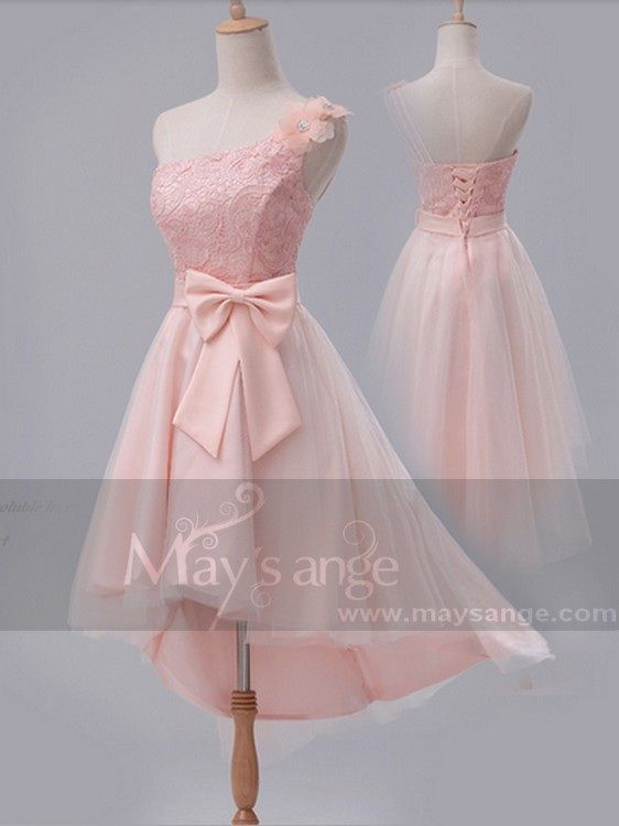 Robe de cocktail  C667  Une touche de rose 85,90€