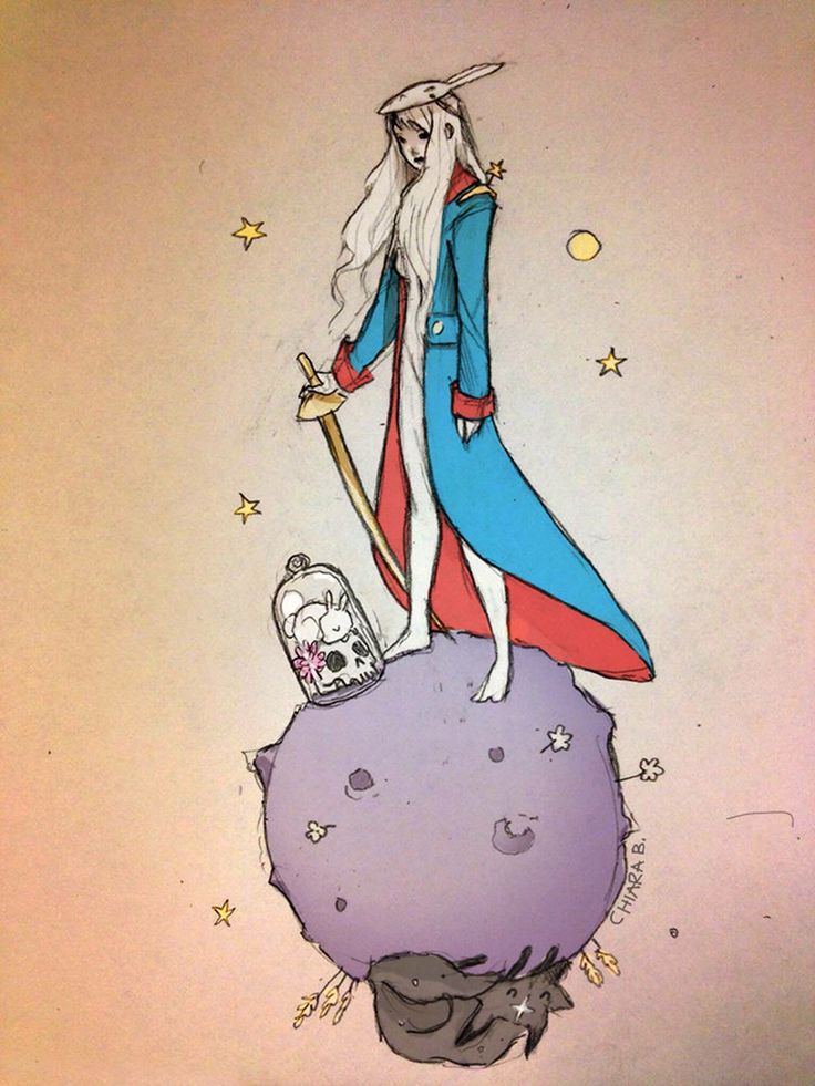 """""""You become responsible, forever, for what you have tamed."""" - The little Prince.  Chiara Bautista"""