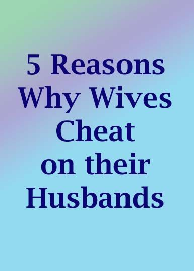 why do girls cheat in a relationship