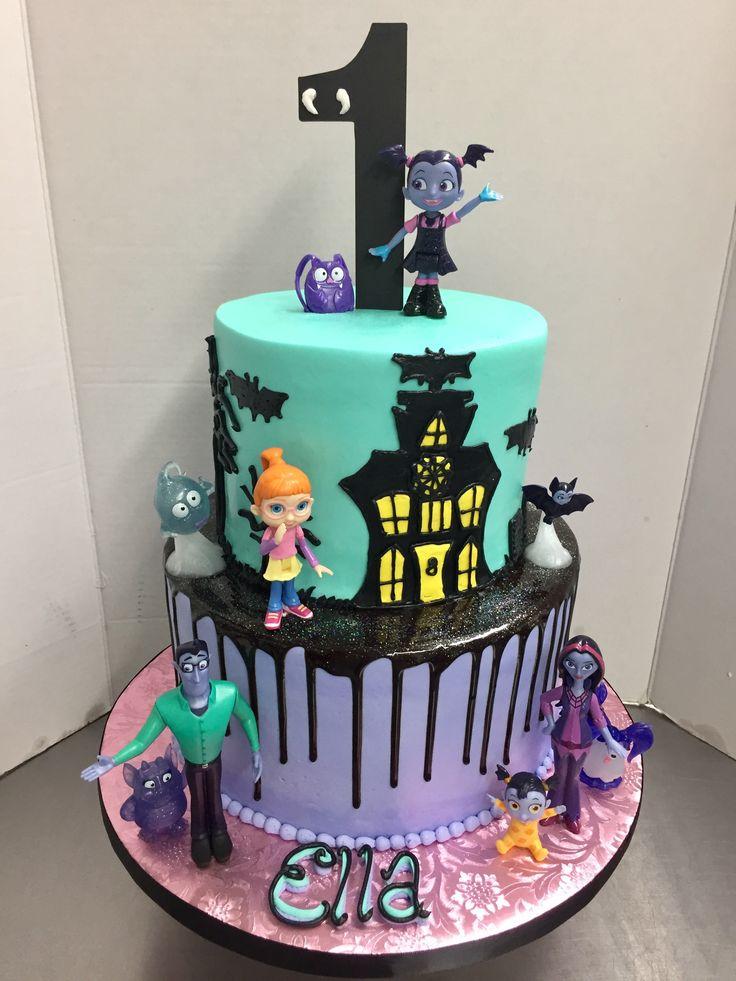 Vampirina 1st Birthday Cake Cakes By Lauren At Alessi