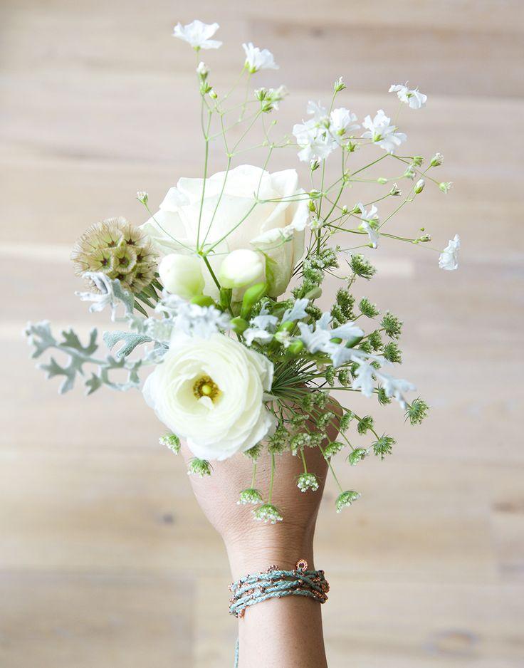 Long Wrap Bracelet – Mint Rose Gold {The Little Market}