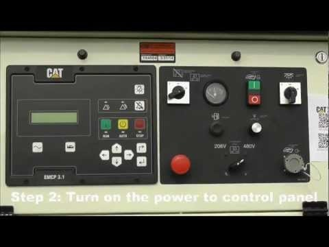 Car Vin Lookup >> Startup procedure for a Caterpillar generator with EMCP 3.1 control panel www.petersonpower.com ...