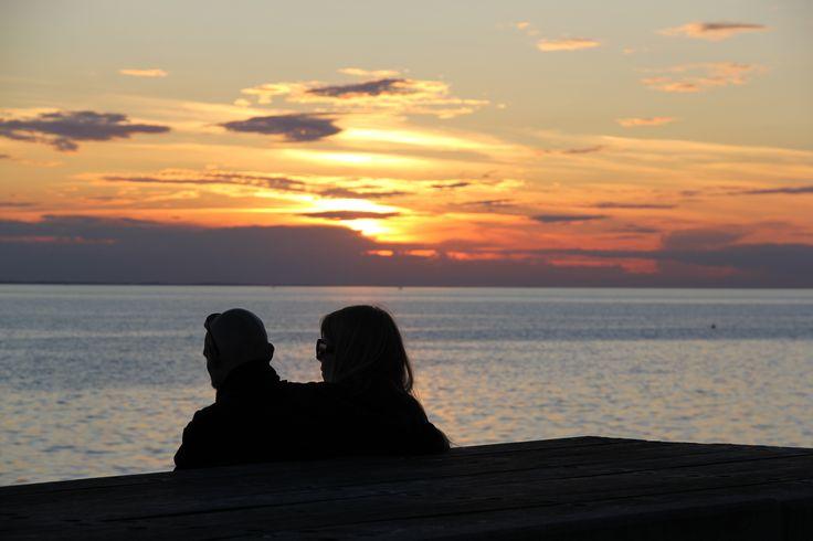 Zweisamkeit  in der Abendsonne