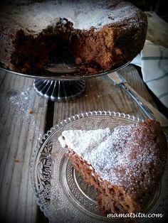 Νηστίσιμο κέικ με ταχίνι με κακάο